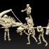 Skeleton balista - 28mm for wargame image
