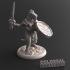 Lizardfolk Female Sword and Shield B image