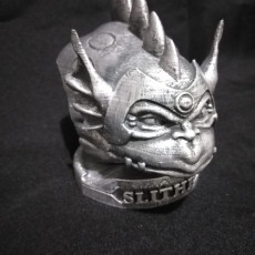 Picture of print of Thundercats Bust Slithe/Reptilio STL for 3D printing
