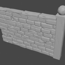 Graveyard wall B