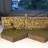 Graveyard wall B image