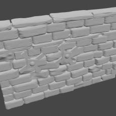 Graveyard Walls C & D (no pillars)