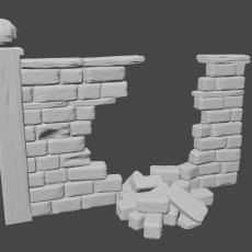 Graveyard wall (Collapsed)