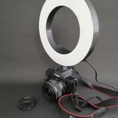 DIY 3D Printable Camera Ring Light