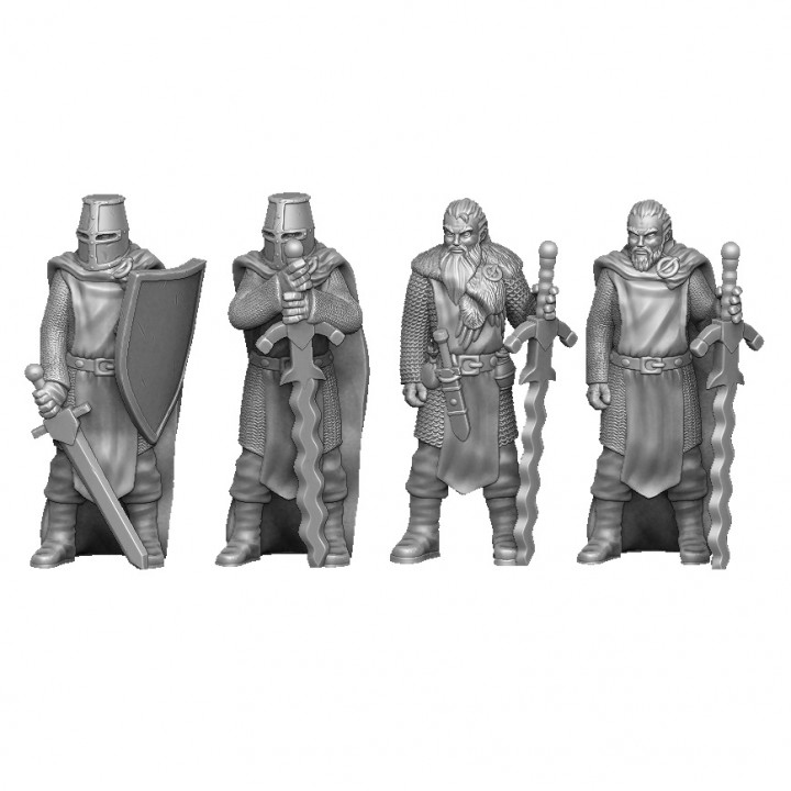 warriors knights pack