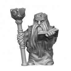 Dwarf rune mage - supportless model