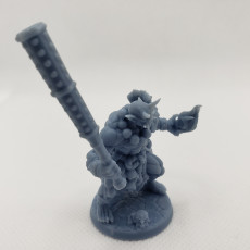 Picture of print of COMPLETE Oni Clan  (presupported)