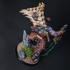 Picture of print of Yoshigruzu, the Clan Leader - Oni Clan Hero This print has been uploaded by Print Paint Play