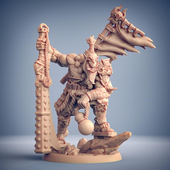 Yoshigruzu, the Clan Leader - Oni Clan Hero