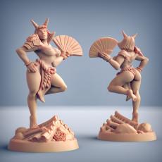 Tsuki - Oni Clan Beauty (Fantasy Pinup)
