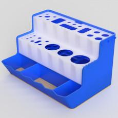Tools holder for 3D printer maintenance