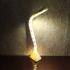 Curved LED lamp image