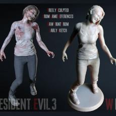 Jill Valentine from Resident Evil 3 remake