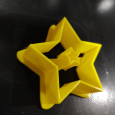 Star Pendant Polymer Clay Cutter