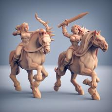 Amazon Horse Riders - 2 Units + Horses (AMAZONS! Kickstarter)