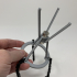 3D Printed Magnetic Tensegrity Model image