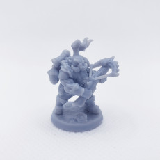 Picture of print of COMPLETE Dwarven Oathbreakers (presupported)