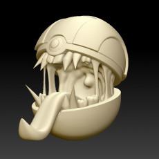 Ultra Poke Ball Trap Monster