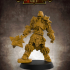 Skeletal Knight (multiple build options) - 32mm scale miniature with supports image