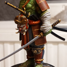 Picture of print of The Samurai Orc