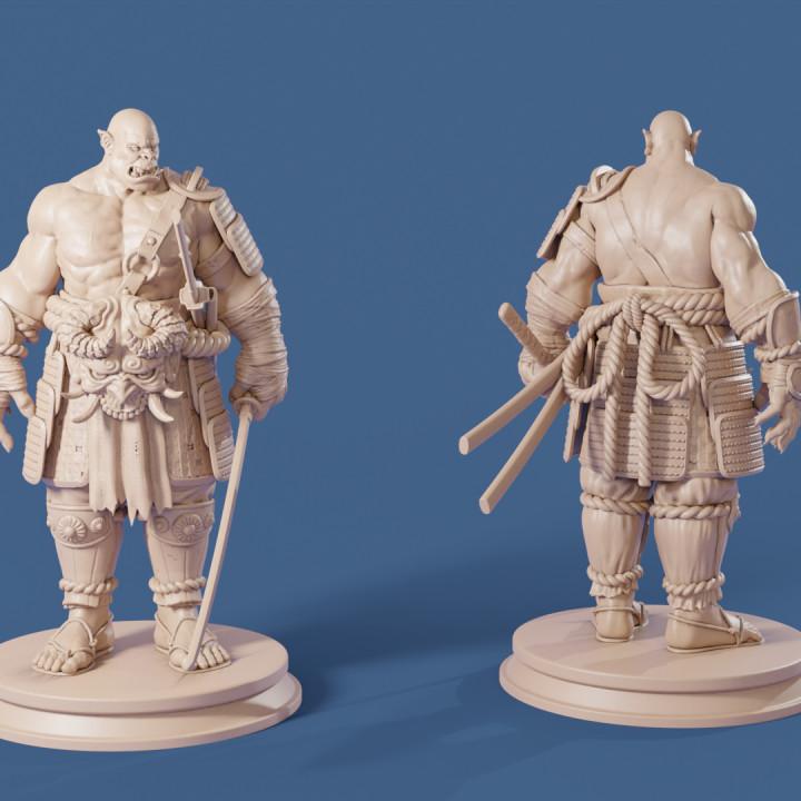 The Samurai Orc