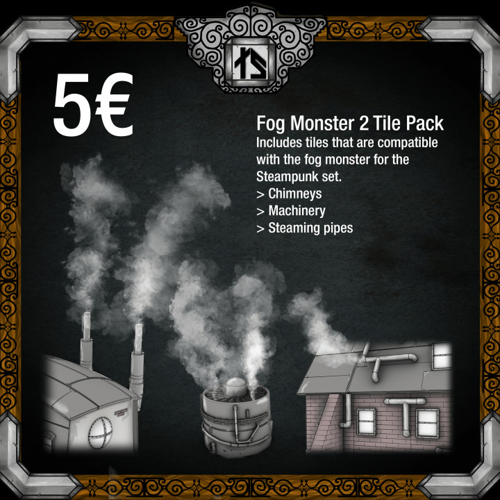 Fog Monster 2 Tile Pack's Cover