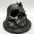 Stylus skull pen holder image