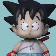 01 Goku  Dragon Ball Fanart 3D Model