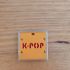 KPop 3 colour keychain image