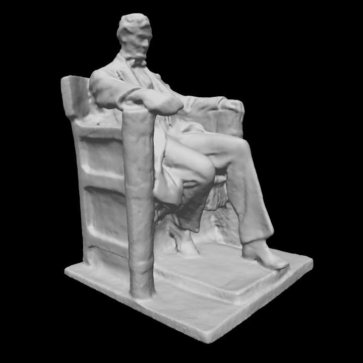 Lincoln Memorial sketch model