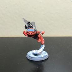 Picture of print of Hanako, Hanzaki Ninja (Shuriken) (Pre-Supported)