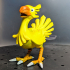 Final Fantasy Chocobo print image
