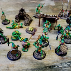 Picture of print of Lizardfolk Swamp Camp Mega Pack PRE-SUPPORTED