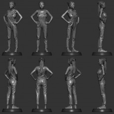 SexyCyborg: NEW body scan in a overalls (2020)