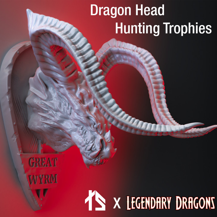 Legendary Dragons 3D - Dragon Head Hunting Trophies's Cover