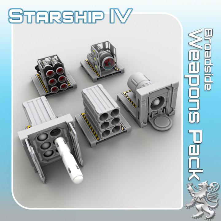 Broadside Weapons Pack