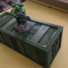 Storage Container for 28mm Wargaming