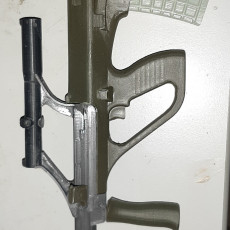 Picture of print of Steyr  AUG A1 - scale 1/4