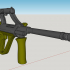 Steyr  AUG A1 - scale 1/4 image