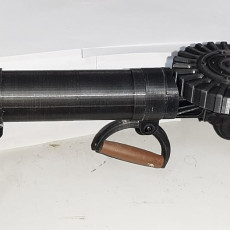 Picture of print of Lewis Gun - scale 1/4