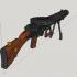 Lewis Gun - scale 1/4 image