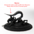 Xenomorph tabletop miniature base. image