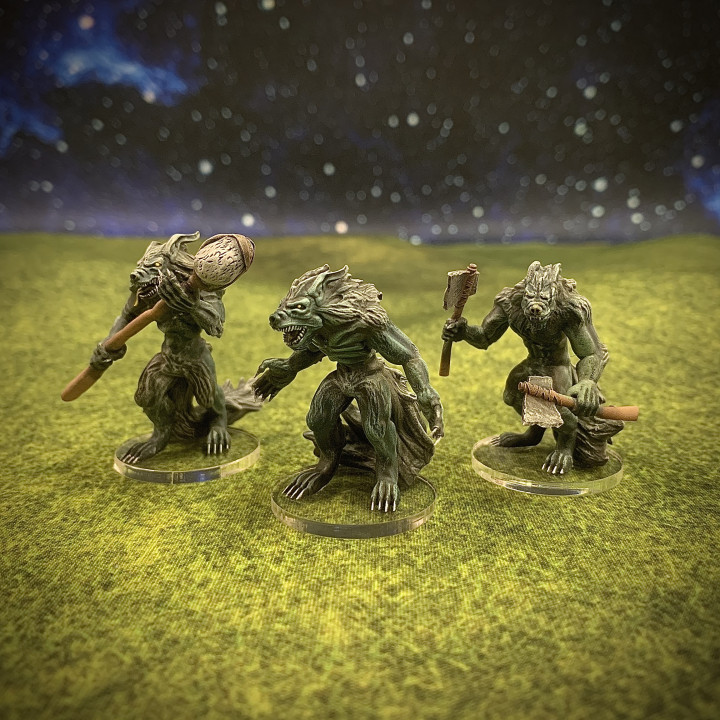Nine Worlds: Vargar Pack