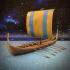 Nine Worlds: Snekkja Longship image