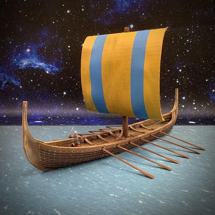 Nine Worlds: Snekkja Longship