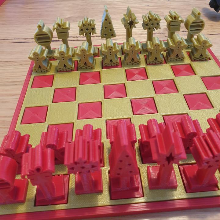 Christmas Advent Calendar Chess