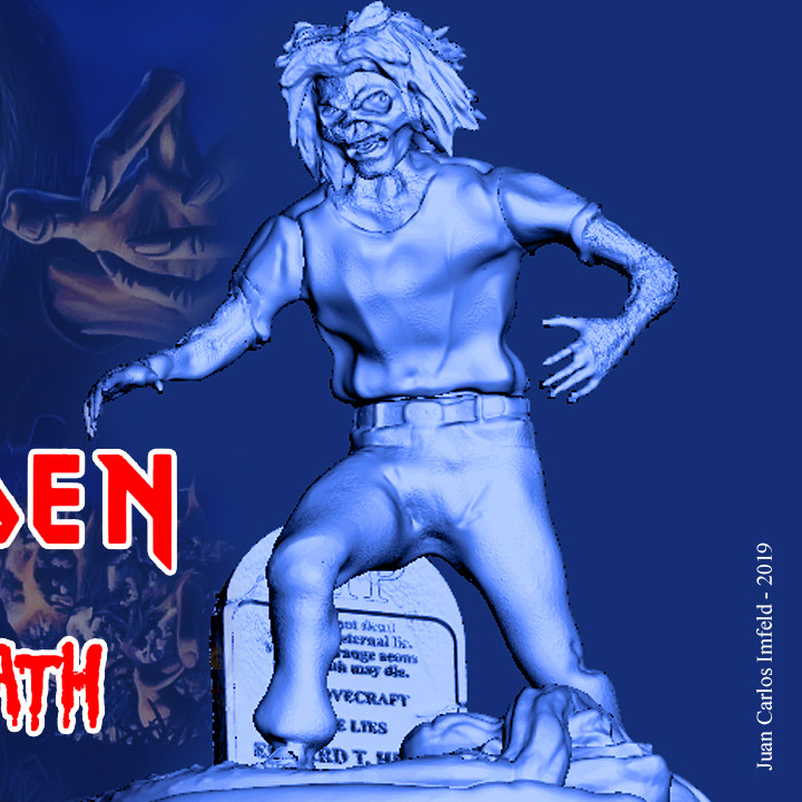 IRON MAIDEN'S LIVE AFTER DEATH EDDIE
