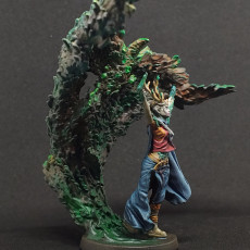 Picture of print of Empyrean Druid