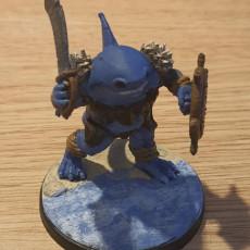 Picture of print of Bullshark Warrior