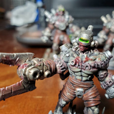 Picture of print of Wargast Kludge-Brute B